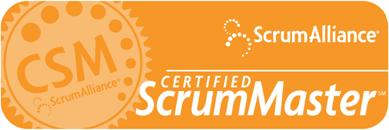 Scrum Alliance - certified Scrum Master